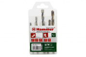 37080 Набор сверл Hammer Flex 202-906 DR set No6 (5pcs) 5-8mm  металл\камень, 5шт. Hammer 202-906 11306 от магазина Прайм Тулс